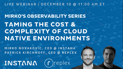 Taming the Cost & Complexity of Cloud Native Environments