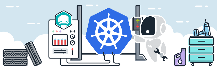 Kubernetes monitoring overview for microservices architectures