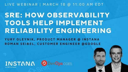SRE: How Observability Tools Help Implement Reliability Engineering