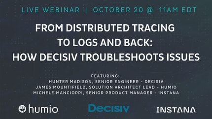 From Distributed Tracing to Logs and Back: How Decisiv Troubleshoots Issues